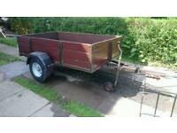 6x4 car trailer