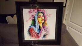 Patrice Murciano Faith Framed Artwork 90cm x 90cm - Signed by Murciano 2013