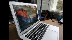 MacBook Air 13.3 inch 1.8Ghz 256GB SSD 4GB RAM