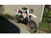 Ktm 250 EXC? 2 Stroke Green Laining Dirt Bike Trailie