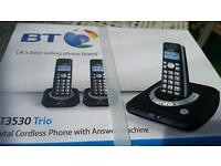 Trio Telephone with answer machine