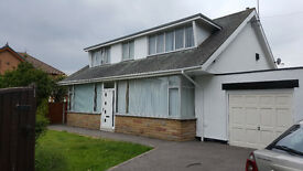 Large detached dormer bungalow in quiet residential area