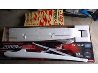 Radio controlled model aircraft kit. 2 metre (78 inch) wingspan. New in box.