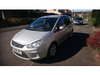 FORD C MAX 1.8 TDCI DIESEL 2008 SILVER - (MOT'D NO ADVISORIES) GREAT CONDITION