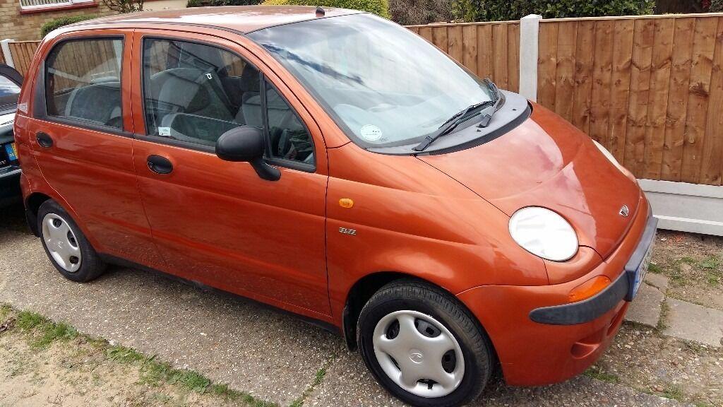 Daewoo matiz perfect starter car cheap insurance n tax | in Clacton
