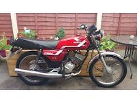 Honda h100 s classic bike learner legal cbt