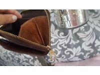 Genuine oak mulberry purse