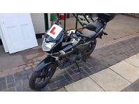Honda CBF 125, low mileage, 2 years old