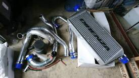 Subaru Impreza FMIC Intercooler Kit with Dump Valve, Boost Controller & Ramair Air Filter