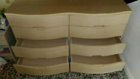 Chest of drawers brand new solid wood