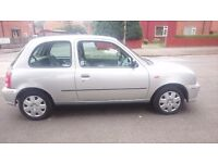 2002 Nisaan Micra 1.0 power stering in good condition 10 months MOT
