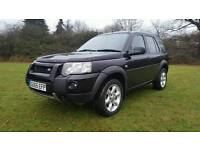 2005 land-rover freelander 1.8 XEi special edition full history PX considered