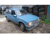 Vauxhall nova 1.3 5 door breaking for spare parts