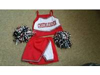 Cheerleader girls dress up/fancy dress