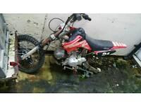 Bike pit spares or repairs
