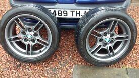 BMW Style 66 17 x 8 Alloys ( refurbed ) ( E32, E34, E36, E39 )