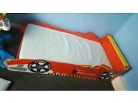 Toddler race car bed