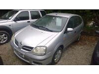 Nissan Almera TINO s Automatic 80,000miles Full Service History - 1 Former Keeper 2005-05-Plate