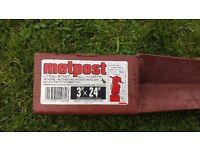 metpost, post support, brand new