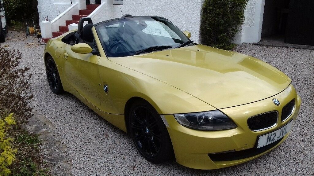 Bmw Z4 2 0is 2007 Manual Fsh Phoenix Yellow