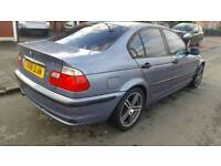 2001 BMW 316 SE 4 Door Petrol Only 75k Full History Full Leather Moted Can Deliver Drives Good