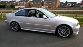 BMW 325CI Msport sat nav dvd clean example