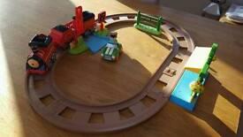 ELC HAPPYLAND train track (RRP £50)