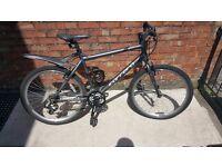 Carrera Mountain/road hybrid bike for sale