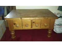 Assorted Pine Furniture (Drawers, Bedside Tables, Coffee Table, TV Cabinet, CD Tower, Bookcase)