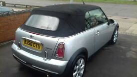 2006 Mini Cooper Convertible 1.6 Petrol, Chili Pack, Excellent example.