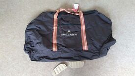 Liners, footmuff and accessories for maclaren stroller
