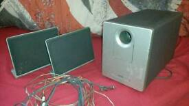 Teac wafer speakers with subwoofer for sale