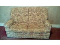 3-Seater (bed) settee plus two chairs (one recliner)