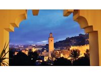 1 return ticket, London- Marrakech, 2 Dec- 5 Dec