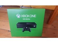 Xbox one 500gb COD Black ops 3 + more games