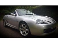 MG TF 135 COOL BLUE LIMITED EDITION 48K MILES & 12 MONTHS MOT