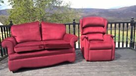 free 2 seater sofa and electric chairs