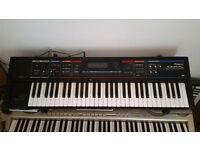 Synthesizer. Roland juno di. Immaculate condition. Boxed with discs. I am aalso including a headset