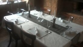 Excellent Repro Table and Chairs