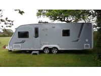 Caravan - Swift Conqueror 630. Excellent top of the range, twin axel 2008 model.