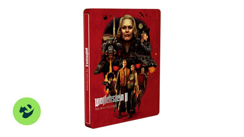 Wolfenstein 2 Steelbook