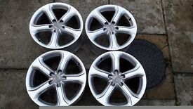 "17""AUDI alloy wheels"