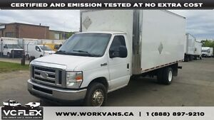 2010 Ford E-450 16Ft V8 Diesel + Tow Hitch