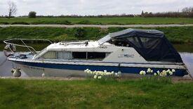 27 ft seamaster river cruiser 4 berth 1.8ltr diesel for sale