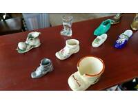 Various shoe and boot ornaments