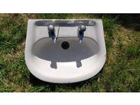Bathroom Sink (wash basin) with taps