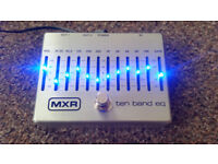 Ten Band EQ guitar pedal from MXR dunlop - perfect condition