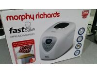 NEARLY NEW BREADMAKER - MORPHY RICHARDS