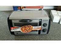 Electric mini grill and oven combi