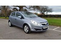 VAUXHALL CORSA 998cc 59 PLATE 2010 2P/LADY OWNERS ONLY 26000 MILES SERVICE HISTORY LOW INSURE TAX